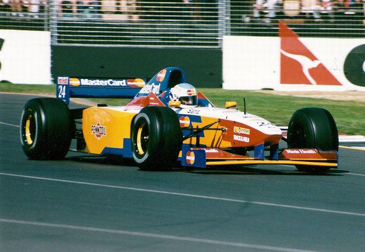 Vincenzo Sospiri (ITA) (Mastercard Lola F1 Team), Lola T97/30 - Ford ECA Zetec-R 3.0 V8 (Australia 1997)