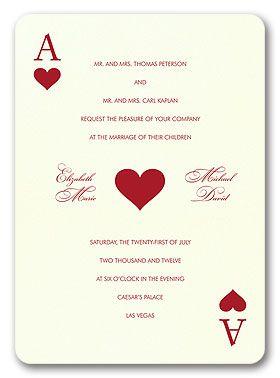 best 25+ vegas wedding invitations ideas on pinterest | vegas, Wedding invitations