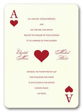 Vegas Wedding Invitation Ideas | Las Vegas Wedding Invitations | Wedding Vendors