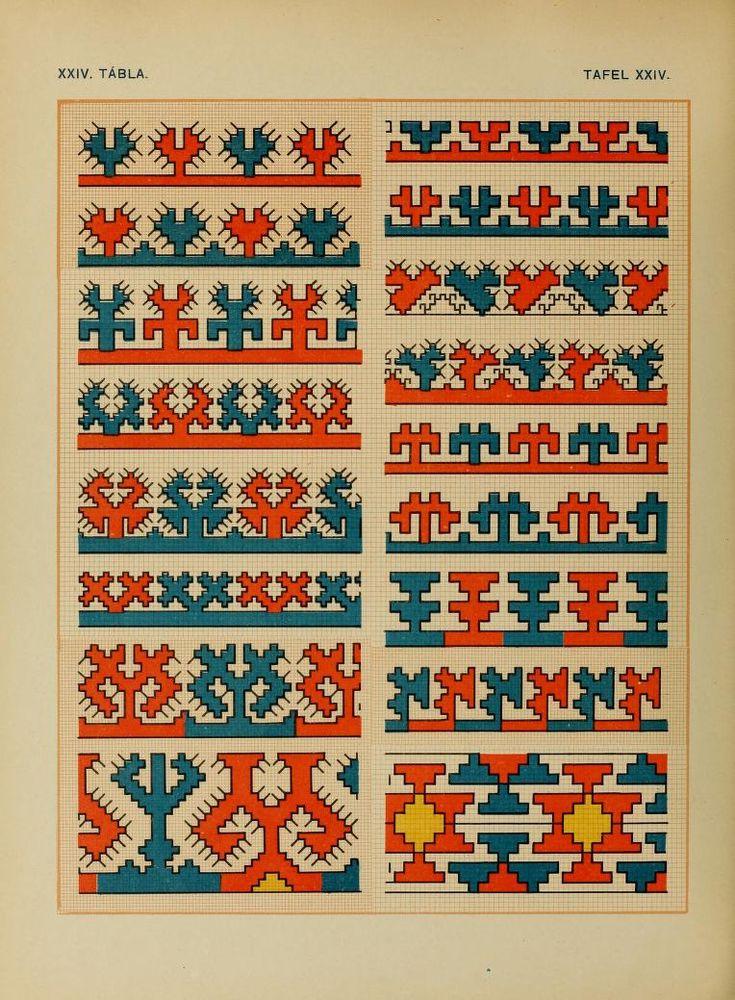 Osztyák himzések = Ostjakische Stickereien - Ostyak embroidery - Magyar Nemzeti Múzeum - 1921  (60 of 86)