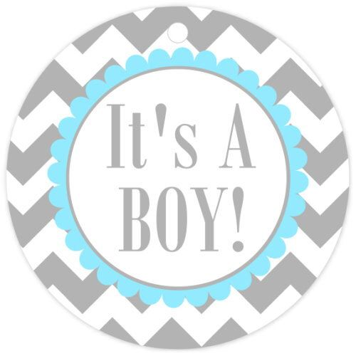 It's A Boy Baby Shower Chevron Tags, Favor Tags - It's A Boy Chevron Baby Shower Favor Tags, Your choice of colors by delightdesignbiz on Etsy https://www.etsy.com/listing/157784672/its-a-boy-baby-shower-chevron-tags-favor