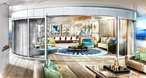 Interior Visualization Yacht