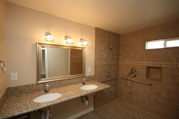 Ada Bathroom Home Modification Ot Ideas Pinterest