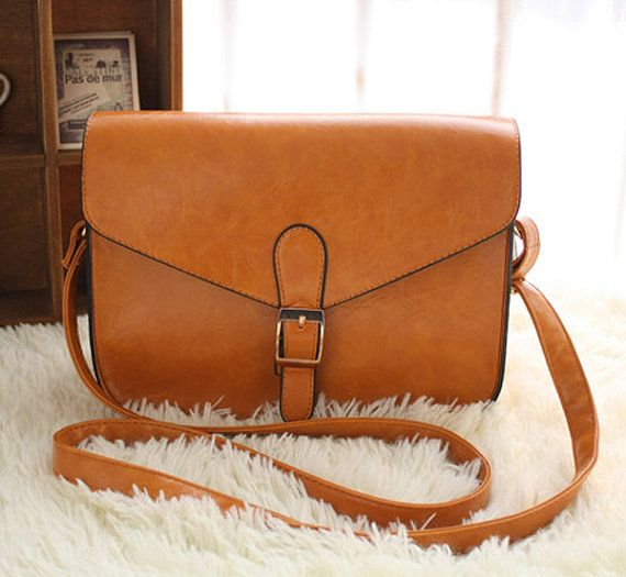 Retro oiled leather girls Women Bag Clutch by FashionZone2013, $30.50