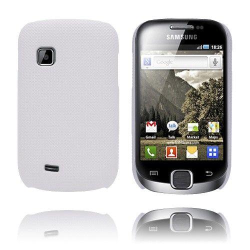 SuperGrip (Valkoinen) Samsung Galaxy Fit Suojakuori