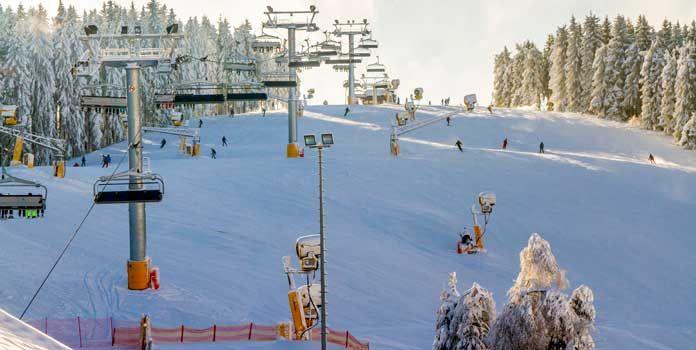 Skiliftkarussell Winterberg: grootste skigebied van het Sauerland