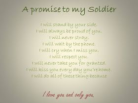 a promise to my soldier deployment pinterest i