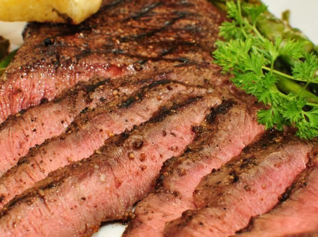 """The Flat Iron is called by some, the best cut of beef, this """"new"""" steak is definitely worth a try. Get is fast, before it becomes the most expensive cut of beef."""