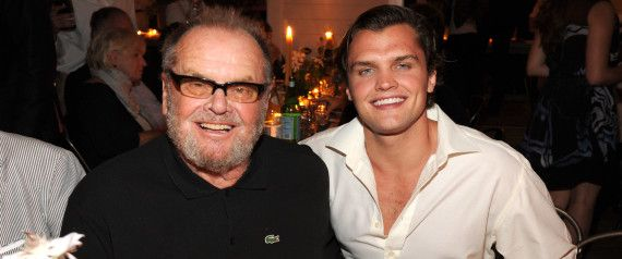 Jack Nicholson and His Son, Ray, Attended the Apollo in the Hamptons Fundraising Event For The Apollo Theater Together at Ronald Perelman's Estate. 22-year-old Ray Nicholson is the son of the 77-year-old actor and actress Rebecca Broussard. (August 16, 2014)