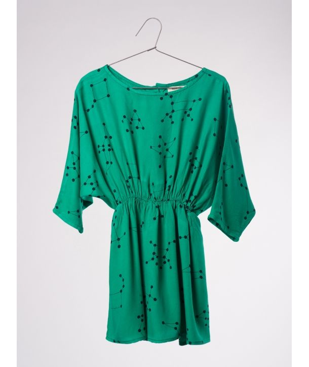 Dress t-shape Constellation green
