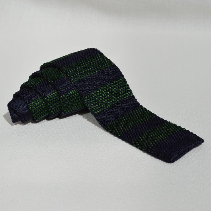 Corbata Punto Rayas Azules