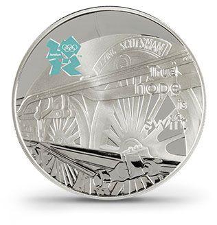 Moeda Comemorativa dos  Jogos Olímpicos de Londres 2012