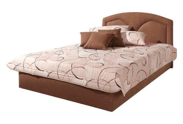 Polsterbett, wahlweise mit Bettkasten