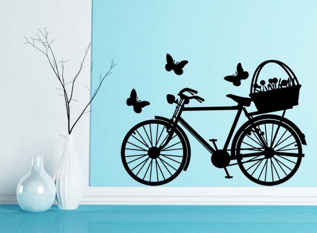 vinilo primavera con bicicleta 630px