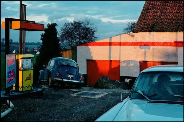 Magnum Photos Blog - Harry Gruyaert, Belgium, province of Brabant, near the town of Wavre, 1981