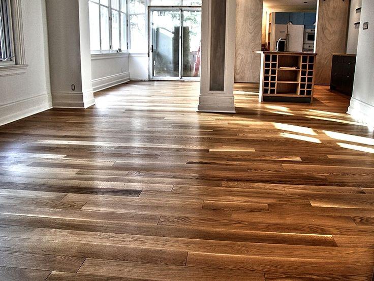 Plancher de bois franc ingenierie - chene-blanc - select - huile-livos-naturel #planchersboisfranc #planchersbellefeuille
