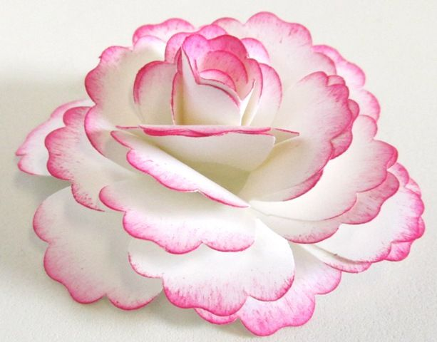 Blossom punch paper flower video