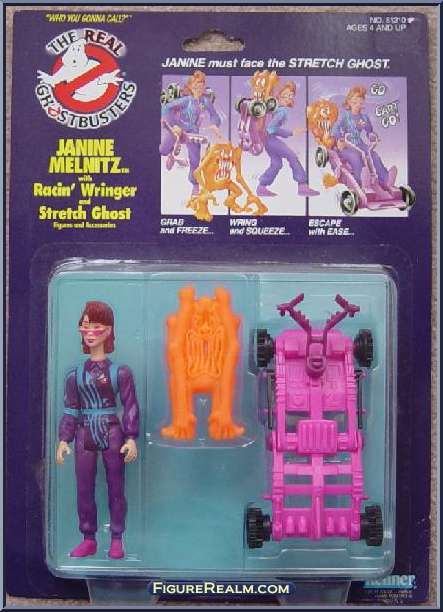 Kenner The Real Ghostbusters Power Pack Heroes: Janine Melnitz 1986