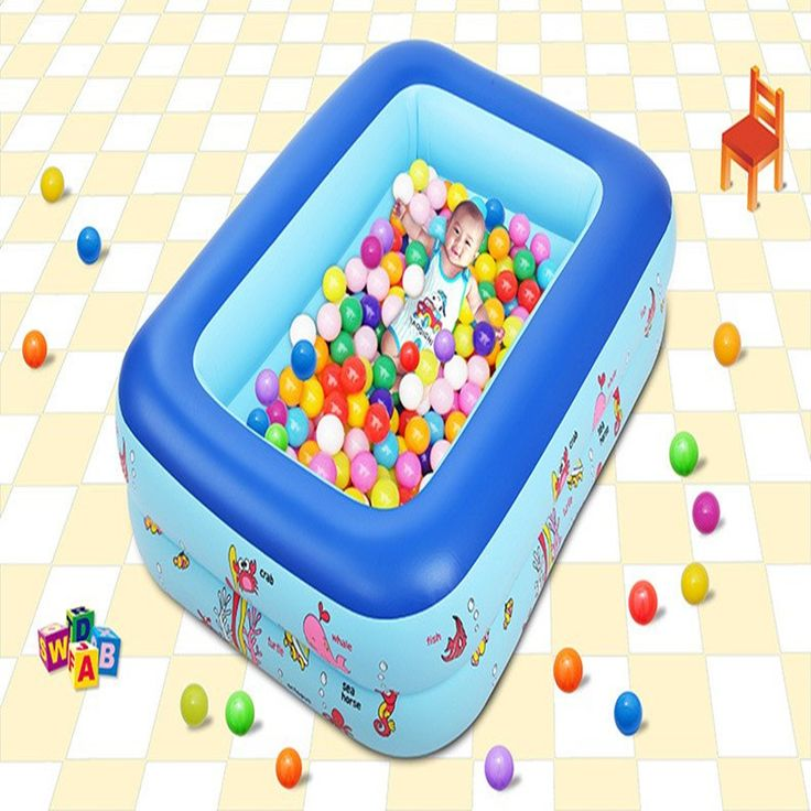 Plastic Paddling Pool Cartoon Swimming Pool Print Inflatable Pool Portable Swimming Pools For Children Piscina Free Drop Ship