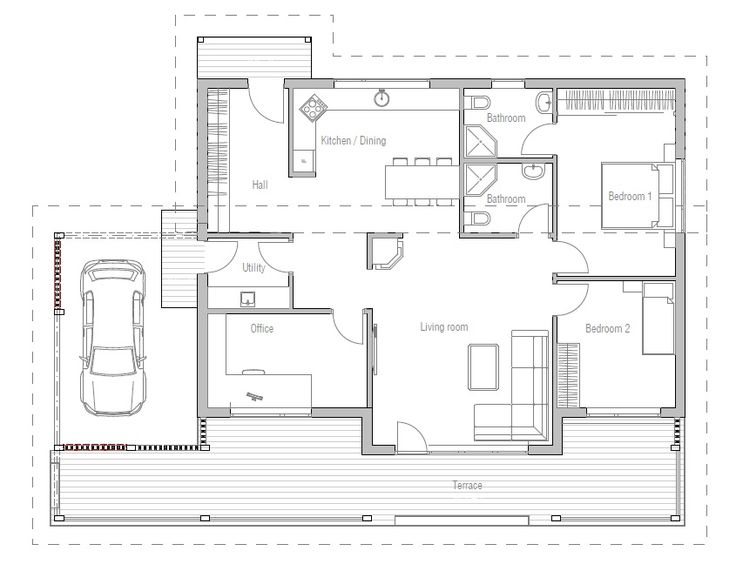 863 best Home images on Pinterest Small house plans House floor