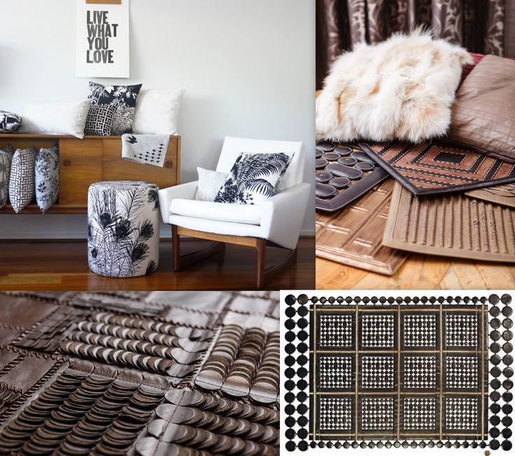 W tym tygodniu podpowiadamy jak zaaranżować wnętrze, w której główną rolę dekoracyjną odegra skóra zestawiona z tekstyliami australijskiej marki Florence!. Skórzany dywan Next Step - ażurowe wykonanie pozwala na zawieszenia dywanu na ścianie! W zestawie, skórzane panele, oprawione w ramę, wbudowane w mebel stworzą piękne dzieło sztuki, doskonale kontrastują również z podłogą! Tkaniny i tapety Florence idealnie uzupełniają się z kolekcją skórzanych dodatków. In Situ, Powsińska  20A Warszawa.