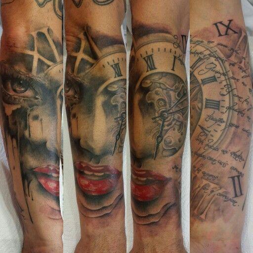 Rafa Emme from Élite Tattoo Studio  (Valencia, Spain)