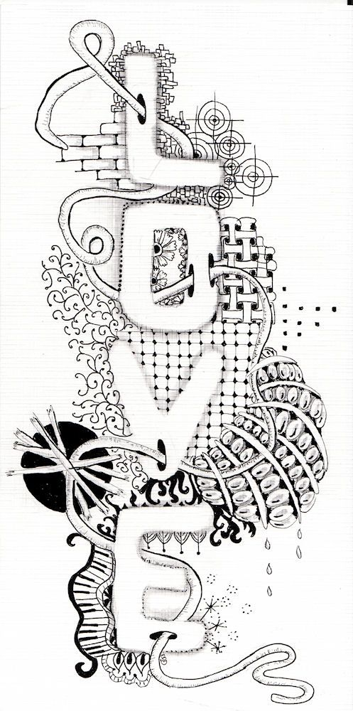 Efie goes Zentangle: the diva 131 index