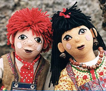 People say i remind them of rosie...a lifeless doll? (rosie and jim)