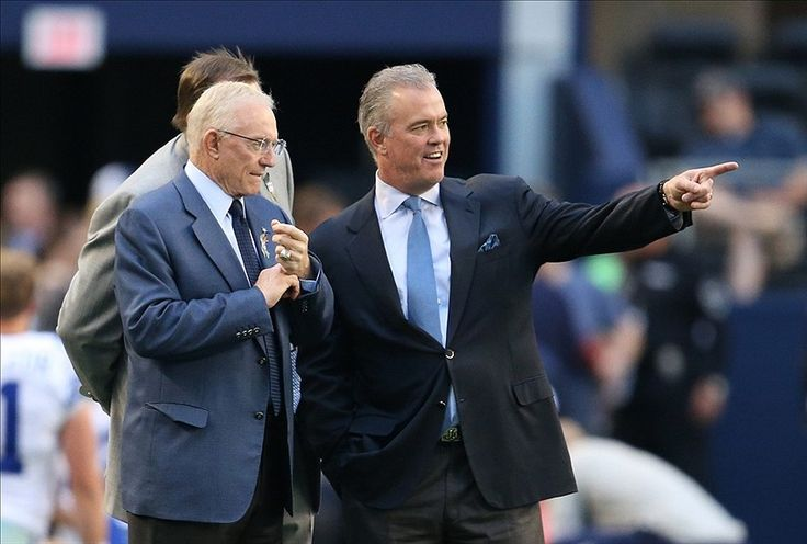 Disagreement Over Johnny Manziel Not The First Time Jerry & Stephen Jones Have Butted Heads