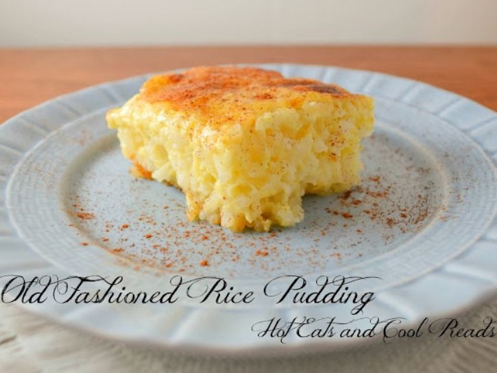 Old Fashioned Rice Pudding - baked this tasted like an omlette! Not a dessert?
