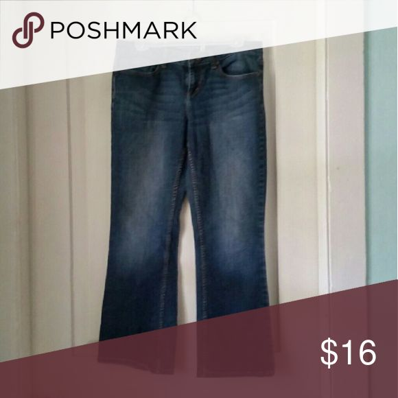 American Rag Bootcut jeans Size 11 Short, worn but great condition. American Rag  Jeans Boot Cut