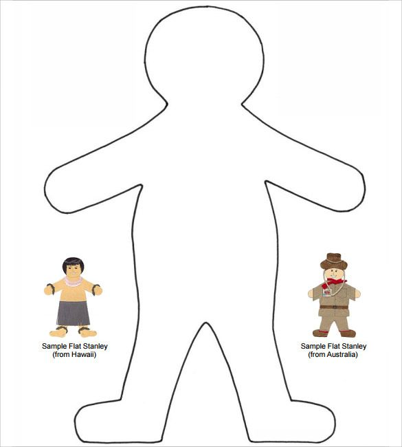 7 best Flat stanley images on Pinterest - flat stanley template