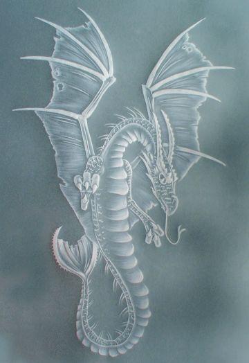 Pergamano Dragon @purelyparchmentcraft