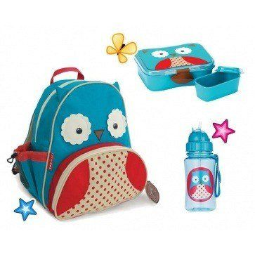 Deze Skip Hop UIl school Combipack vind je op www.liefzebraatje.nl