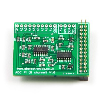 ADC Pi - Raspberry Pi Analogue to Digital converter