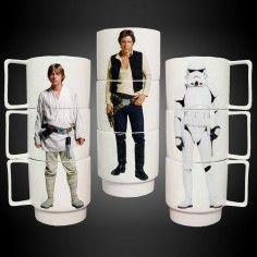 Tazze Impilabili Star Wars - set da 3
