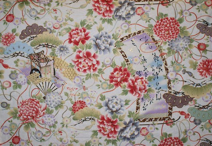 HANABI HH201205-11D - Japanese - On Sale - Fabrics