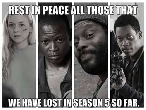 RIP - I can't believe they would kill off so many people!