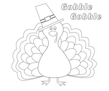 Download One Or All 16 Of Our Free Thanksgiving Coloring Pages To Keep Artistic Kids