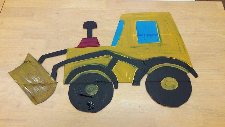 Učíme se s dopravními prostředky – Puzzle