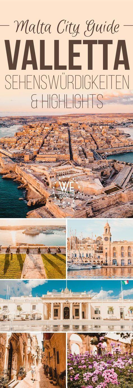 Valletta City Guide für 2 bis 3 Tage: Mit den 16 besten Valletta Sehenswürdigkeiten, Reisetipps, Highlights, Insidertipps und Must Sees die du unbedingt besichtigt und gemacht haben solltest. Wir waren insgesamt fünf Tage auf Malta und es war ein traumhafter Urlaub! #valletta #malta #reisetipp