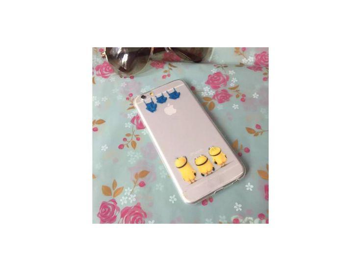 Silikónový kryt (obal) pre iPhone 5/5S - mimoni (Despicable me)