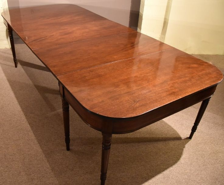 Regency Mahogany Dining Table