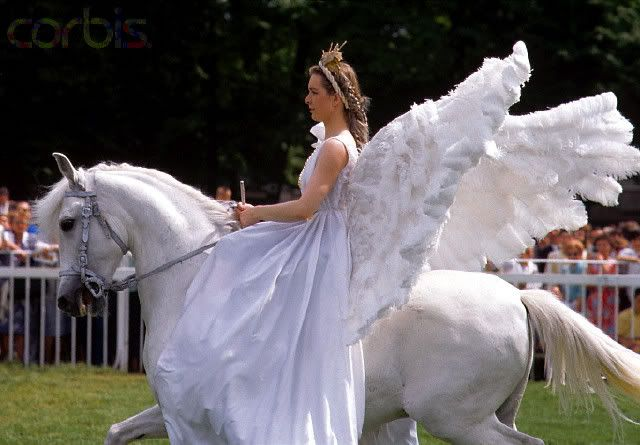 Pegasus Costume (Just in Case Your Horse Needs a Costume too) - that is awesome!