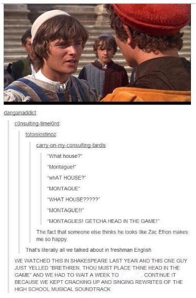I always thought he looked like Zac Efron!