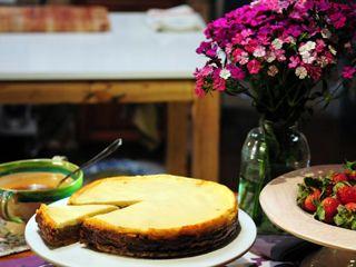 Cheesecake de manzanas ... Narda Lepes
