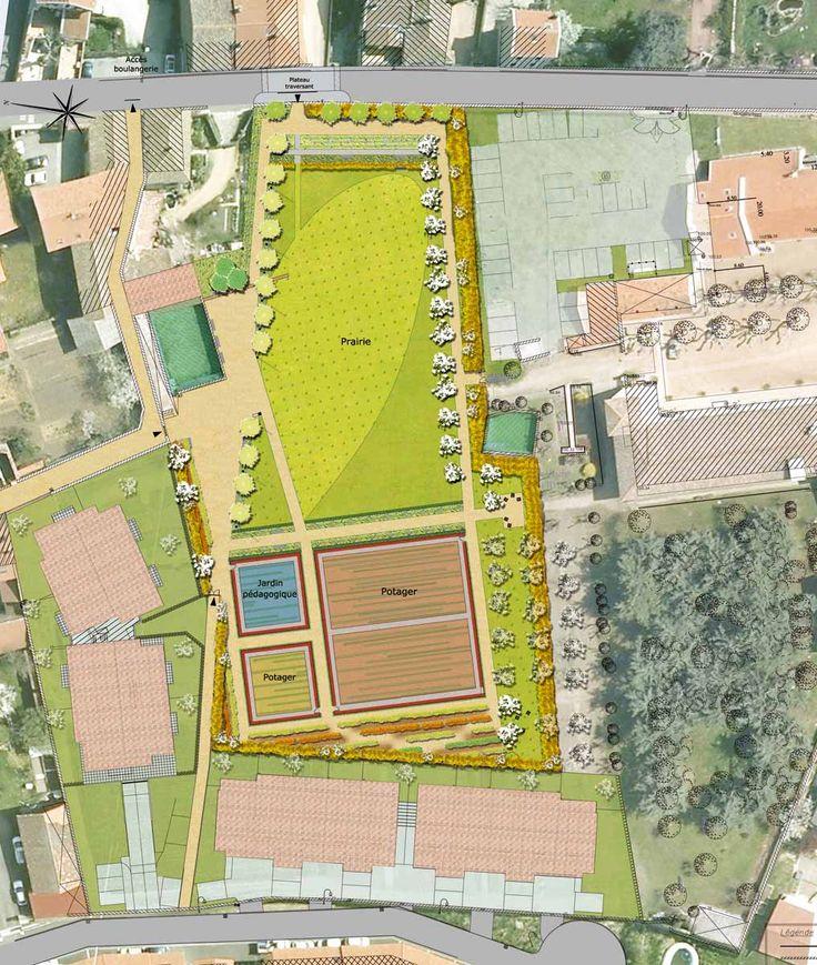 itinéraire bis | paysage, urbanisme & architecture | Lyon | Jardin public Pie X – Taluyers (Rhône)