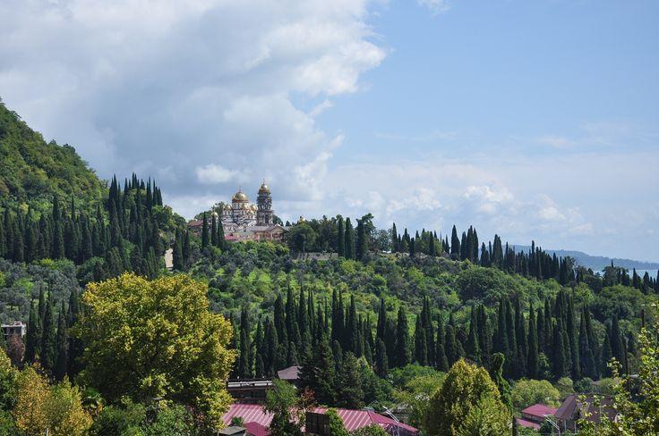 Fotograf New Athos Monastery von Denis Romanov auf 500px (Kloster Nowy Afon in Abchasien)
