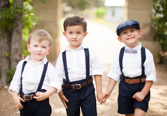 The Cutest Page Boy Ring Bearers In Texas Hill Country