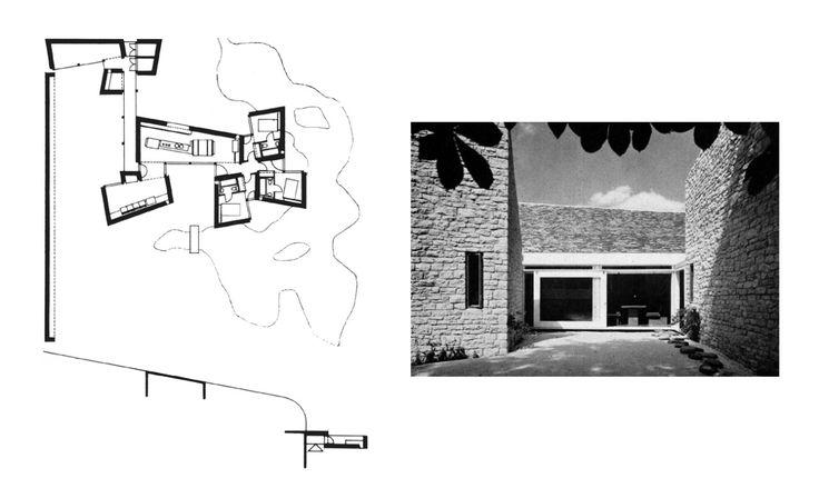 House at Shipton-under-Wychwood Oxfordshire, England, UK; 1962-64 Stout & Litchfield